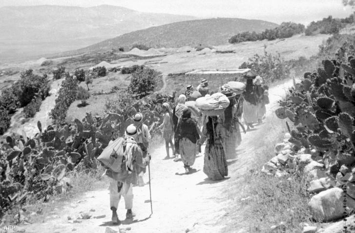 Arab menekültek, 1948