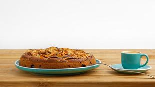 Ez az almás-szilvás süti az ősz egyik kihagyhatatlan desszertje