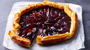 Klassz desszert őszi hétvégékre: marcipános-szilvás süti