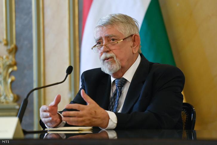 Kásler Miklós, az emberi erőforrások minisztere 2020. augusztus 25-én