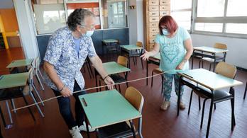 Újra kinyitnak az iskolák Olaszországban