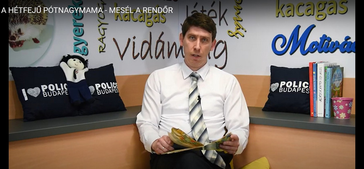 Rab Ferenc ügyész mesél a Mesél a rendőr csatornán