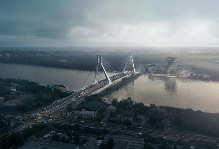 Az új Duna-híd látványterve