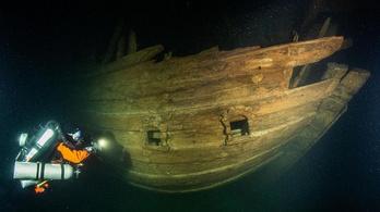 400 éves hajóroncsot találtak a Balti-tenger mélyén