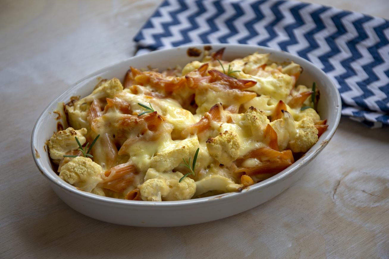 mozzarellas-karfiolos-rakott-teszta