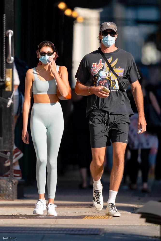 A páros a minap New Yorkban mutatkozott együtt, miután együtt edzettek egy konditeremben