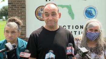 Harminchét évig volt ártatlanul a börtönben a floridai férfi