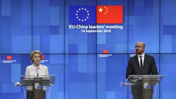EU–Kína-csúcstalálkozó: Brüsszel szeretne tényező lenni Kínával szemben