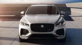 Nagy előrelépést ígér a megújuló Jaguar F-Pace