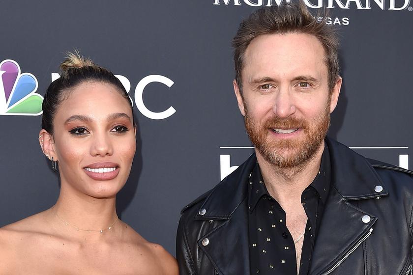 David Guetta 24 évvel fiatalabb párja falatnyi bikiniben pózolt: Jessica irtó dögös nő