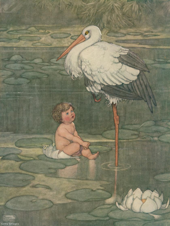 Részlet Hans Christian Andersen meséjéből.