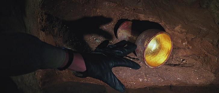 A Szent Grál az Indiana Jones és az utolsó kereszteslovag című filmben.