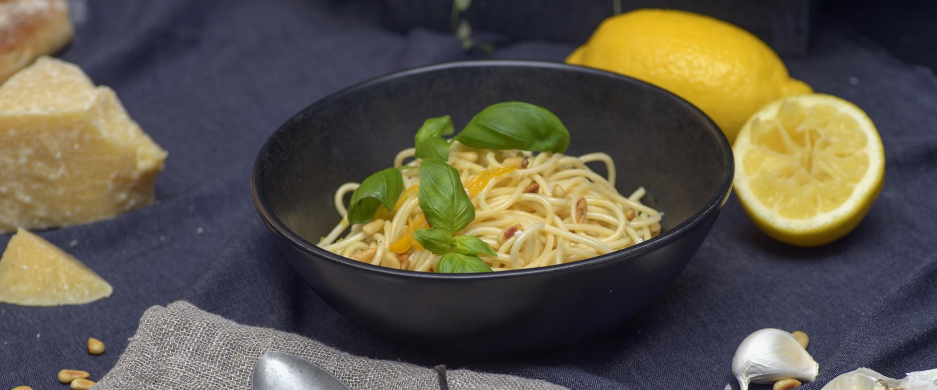 spagetti al limone cover