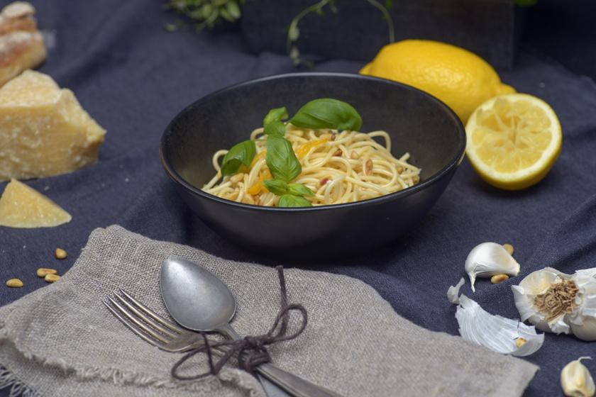 spagetti al limone recept