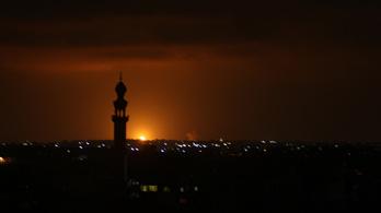 Izrael légicsapást mért gázai célpontokra