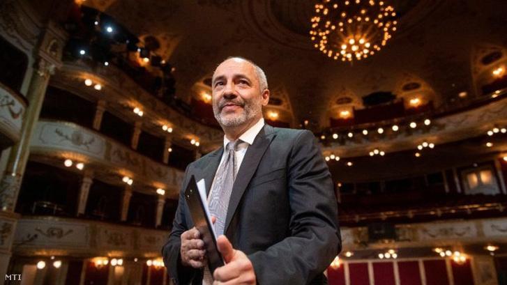 Rudolf Péter a Vígszínházban MTI Illyés Tibor
