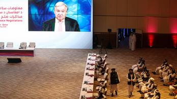 Megkezdődtek a béketárgyalások a tálibok és az afgán kormány között