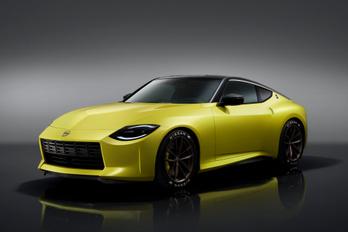 Ízléses retró a Nissan Z Proto