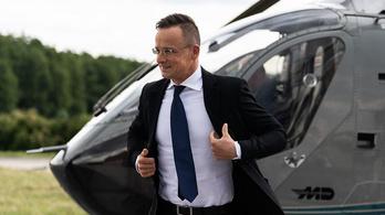 Szijjártó helikopterezéséről Pintér elmondta, hogy a rendőrségi helikopterek összesen 5266 óra 37 percet repültek