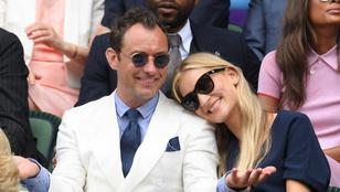 Megszületett Jude Law hatodik gyermeke
