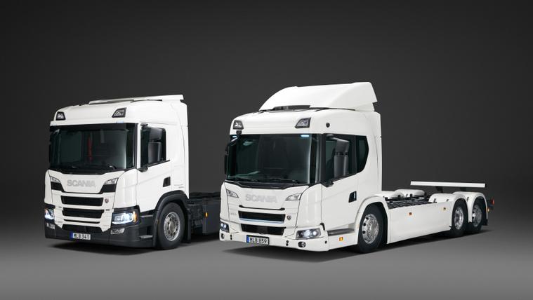 Bejelentették az elektromos Scania teherautókat