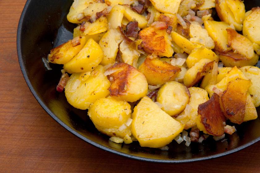 vajon sült krumpli recept