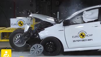 A Toyota Yaris átment az új típusú EuroNCAP teszteken