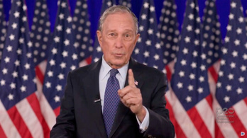 Michael Bloomberg százmillió dollárral támogatja Joe Biden kampányát