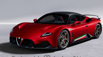 Így nézne ki a Maserati sportkocsija, ha Alfa Romeónak született volna