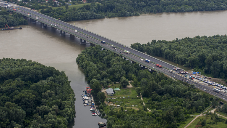 Fennakadás várható vasárnap az M0-s hídon