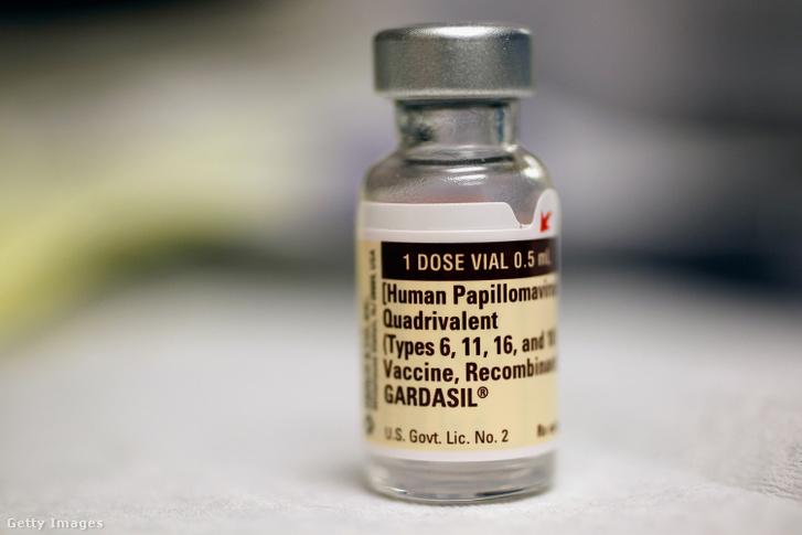 HPV-védőoltás-fiola
