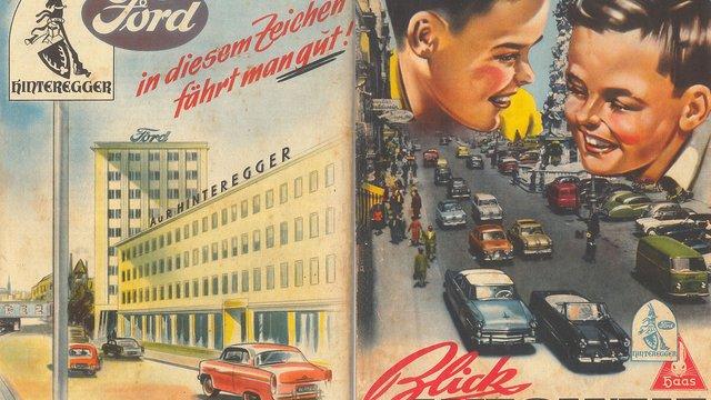 Autós matricás füzet 1956-ból