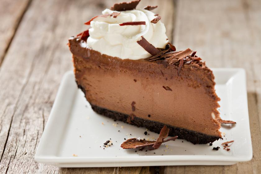 csokis sajttorta recept