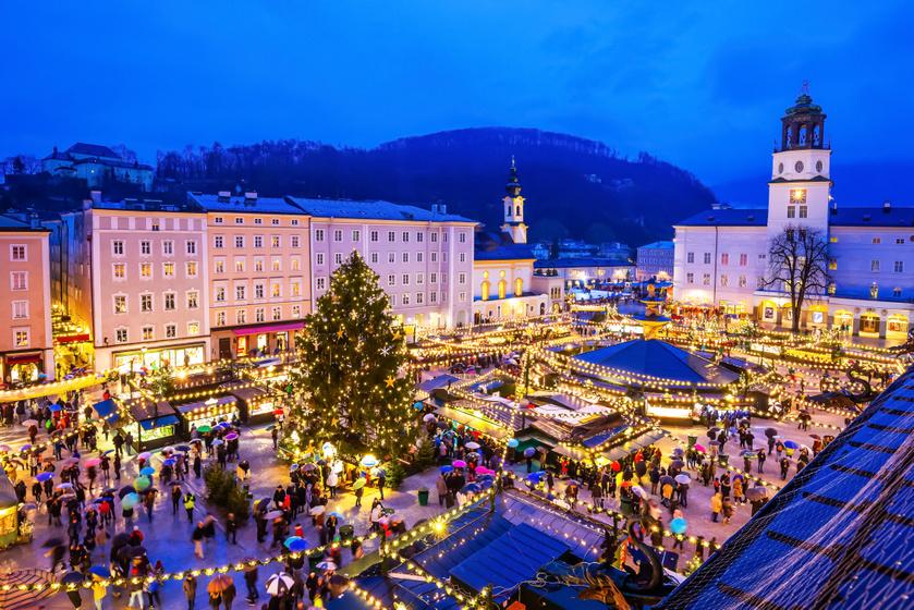 Bár idén Ausztriában is mindent átír a koronavírus-járvány alakulása, Salzburg bakancslistás hely. Mozart szülővárosában advent idején békeidőben évről évre ünnepi forgatag veszi kezdetét, de ijesztő krampuszos és maskarás felvonulások is indulnak ez idő tájt.