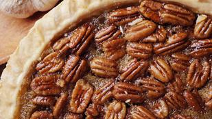 Egy nagy adag fagyival és juharsziruppal, langyosan a legfinomabb a klasszikus pecan pie
