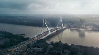 Így néz majd ki Budapest új Duna-hídja