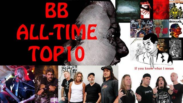 BB Top 10 kedvenc lemeze