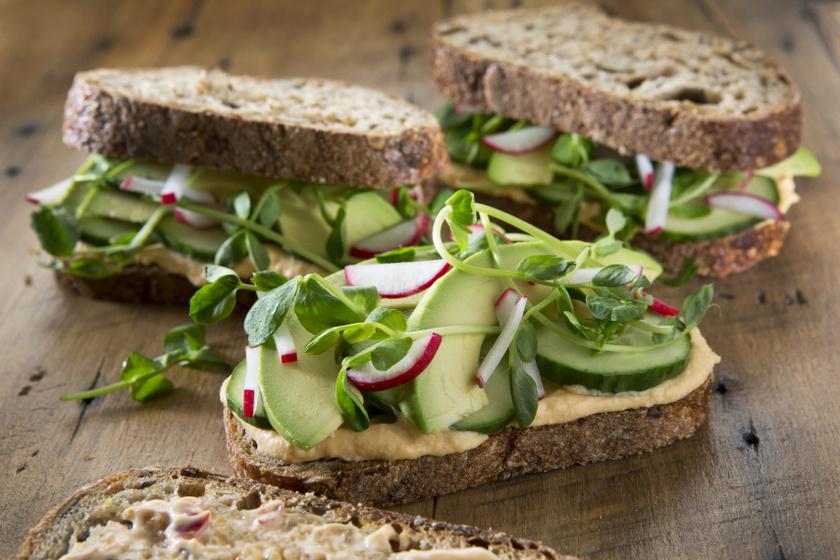 egészséges szendvics belső