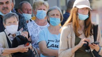 Rekordot dönt a koronavírussal fertőzöttek száma Ukrajnában