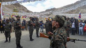 Titkos tibeti hadsereg a kínai határnál