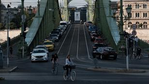 A hétvégén nem jár a villamos a Szabadság hídon és a Kiskörúton