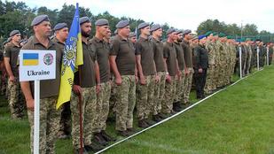 NATO-hadgyakorlat indult Nyugat-Ukrajnában