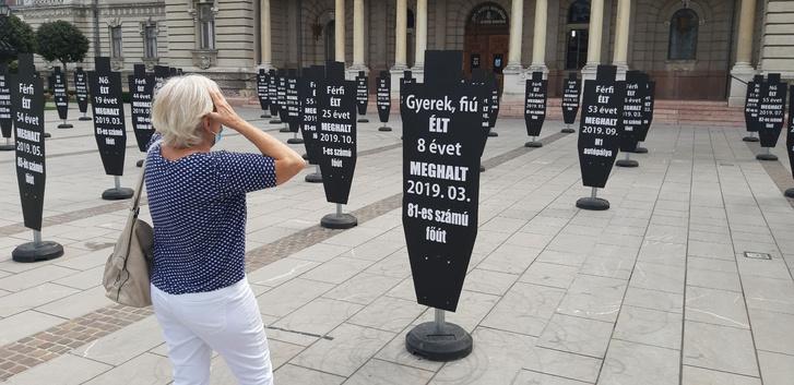 Figyelemfelhívó akció Győrben