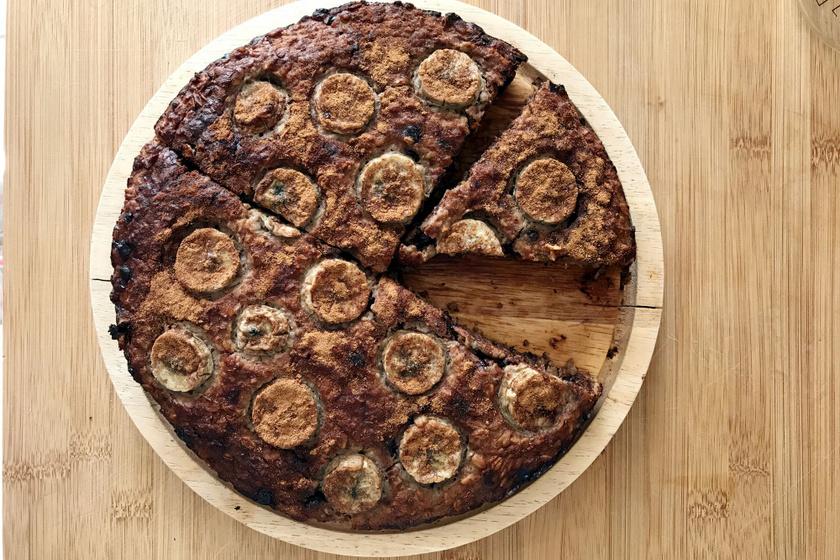 Mennyei csokis, banános süti: a tészta a banántól sokáig puha, szaftos marad