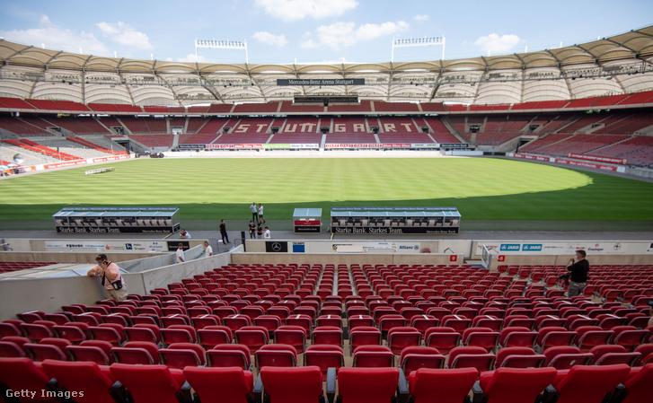 Egyelőre úgy néz ki, az élvonalba visszajutó VfB Stuttgart stadionjába csupán 500 nézőt engednek be szombaton