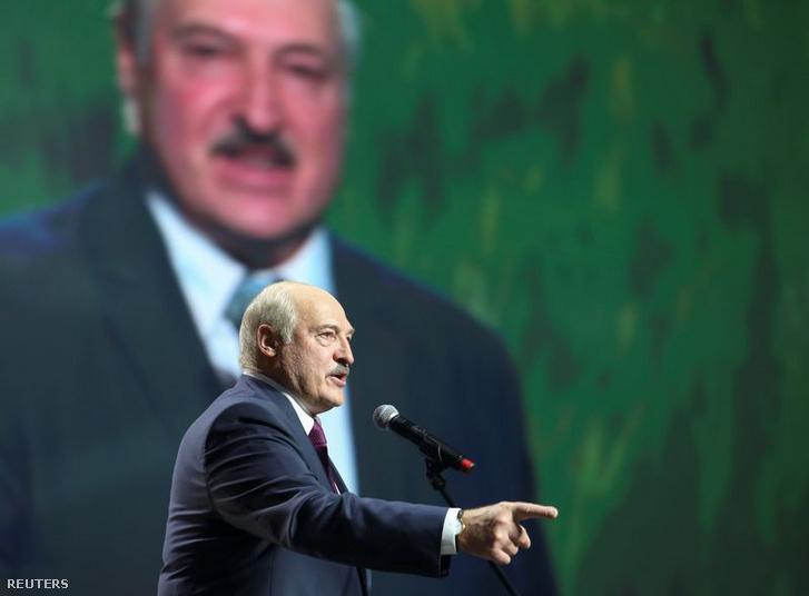 Alekszandr Lukasenko 2020. szeptember 17-én