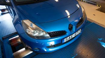 Totalcar Erőmérő: Renault Sport Clio – 2007.
