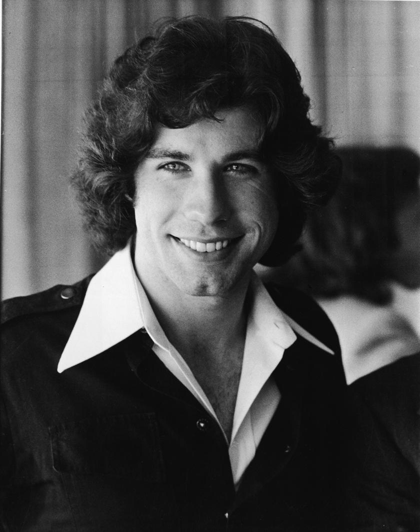 John Travolta a '70-es években vált népszerűvé.