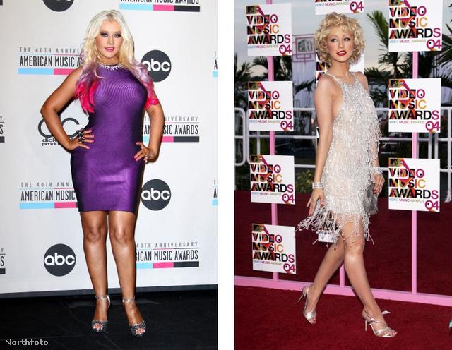 Christina Aguilera idén ősszel, és 2004-ben