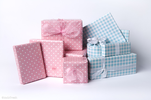 stockfresh 139758 blue-and-pink-baby-gifts sizeM